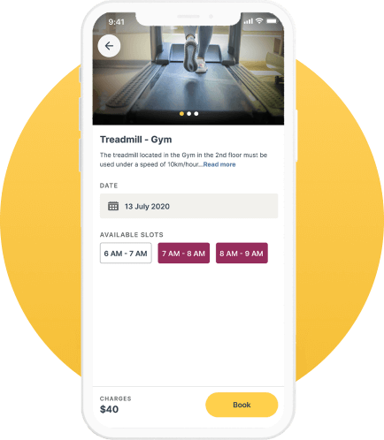 Facility Booking_RE_Connect_TheHouseMonk